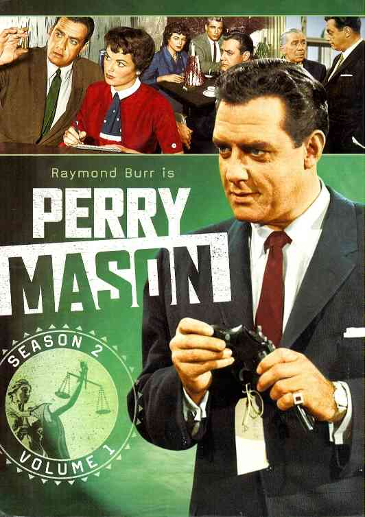 PERRY MASON:SECOND SEASON VOL 1 BY PERRY MASON (DVD)
